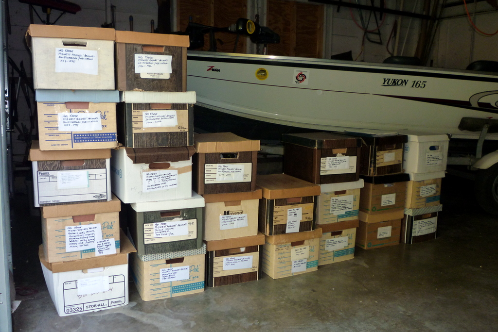 Archives of angling: an update