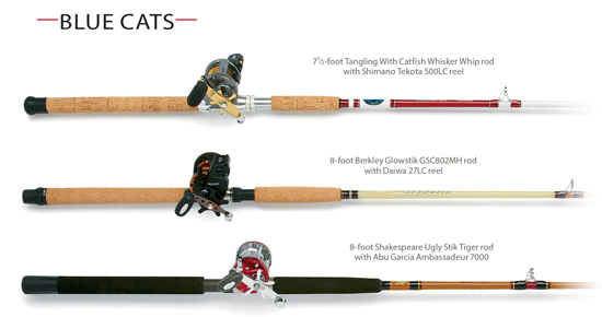 Experts Talk Catfish Rod And Reel Combo Options