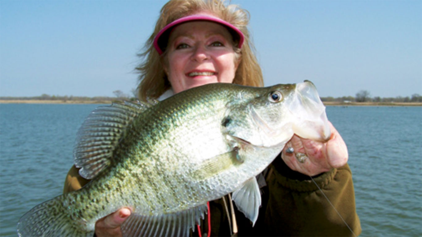 Finding Crappie in Texas