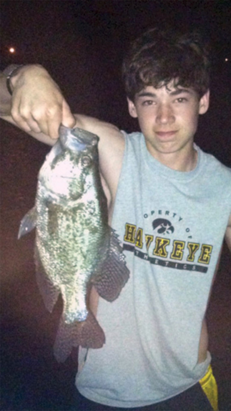 Finding Crappie in Iowa