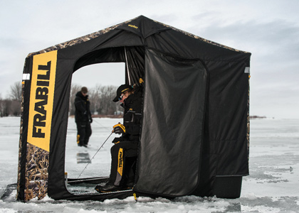 Great Portable Ice Fishing Shelters