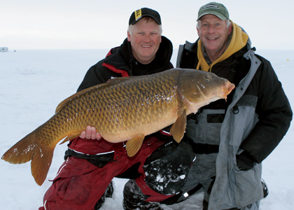 Mission Impossible: Ice Fishing Carp