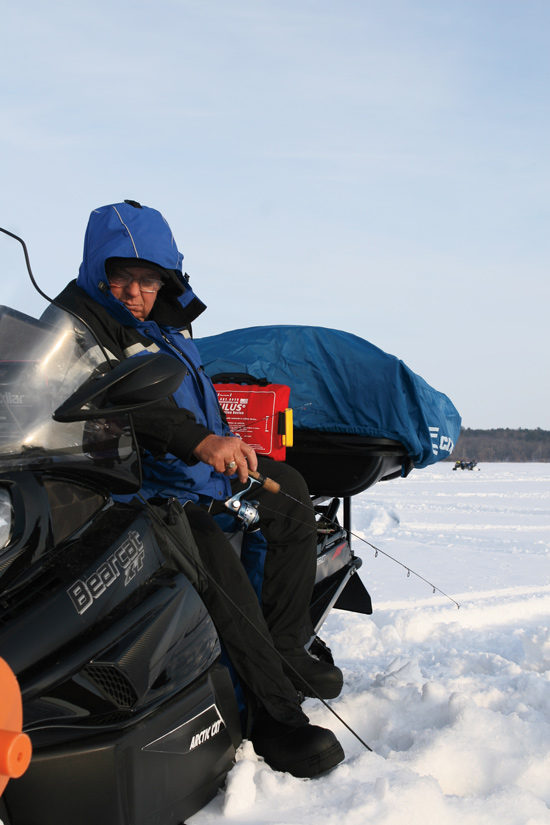 The Ice Fishing Perch Search