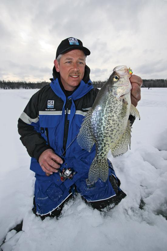 Ice Fishing Panfish Presentations