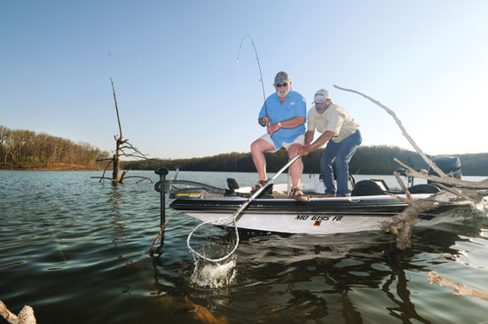 Ultralight for Crappies in Timber