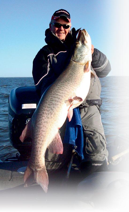 Power Fishing Muskie Bucktails
