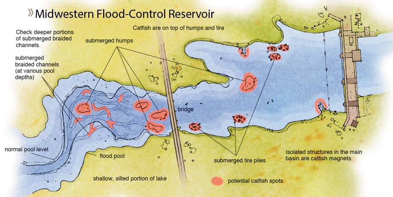 Midwestern-Flood-Control-Reservoir-In-Fisherman