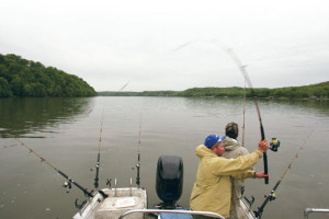 Overcast-Open-Water-Catfishing-Cast-In-Fisherman