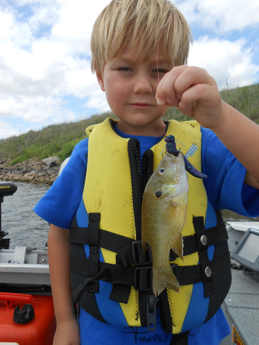 Fishing with Kids and the ZinkerZ
