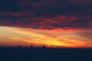 Ice-Fishing-Landscape-Sunset-In-Fisherman
