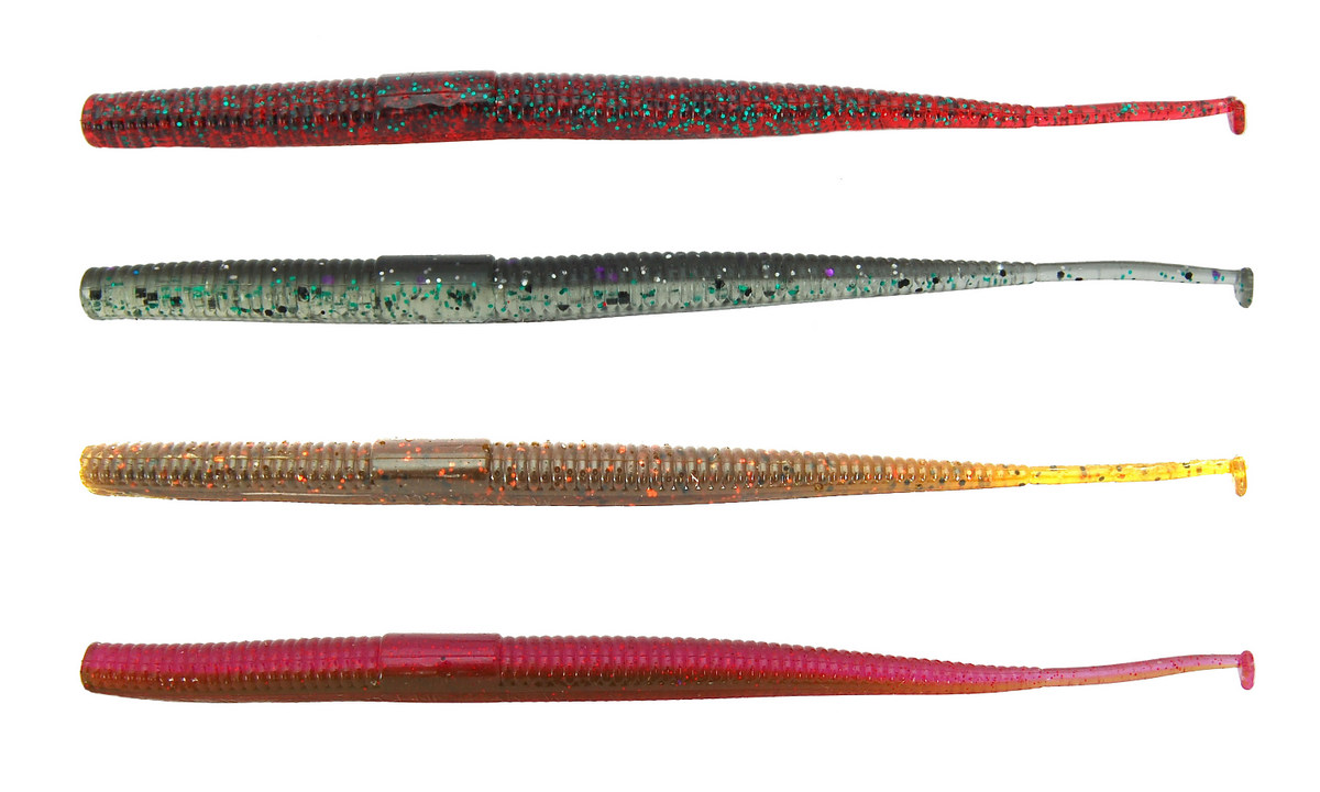Gene Larew Lures' Tattle Tail Worm; an Update