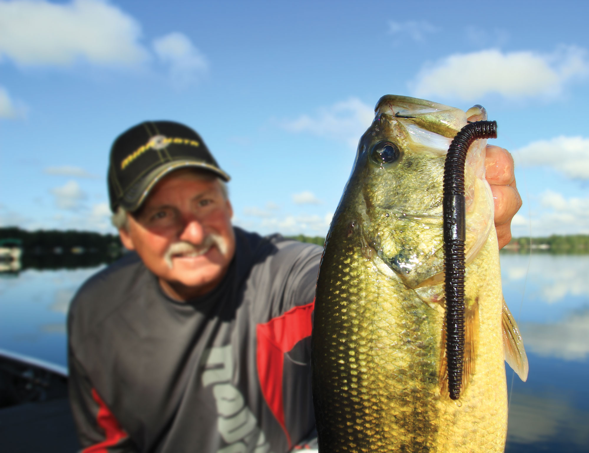 Big Worms For Bass