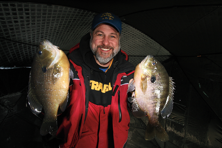 First Ice Bluegills: North To South