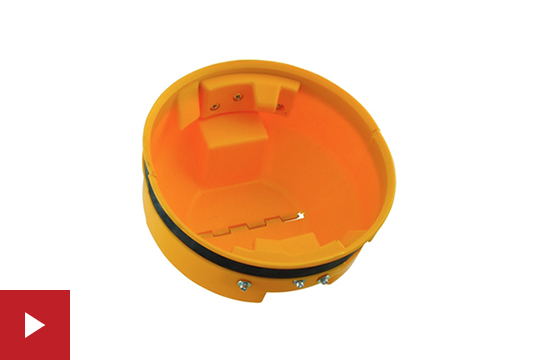 Cold Snap Auger Cover