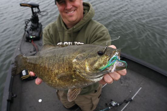 Smallmouth Spinnerbait Finesse