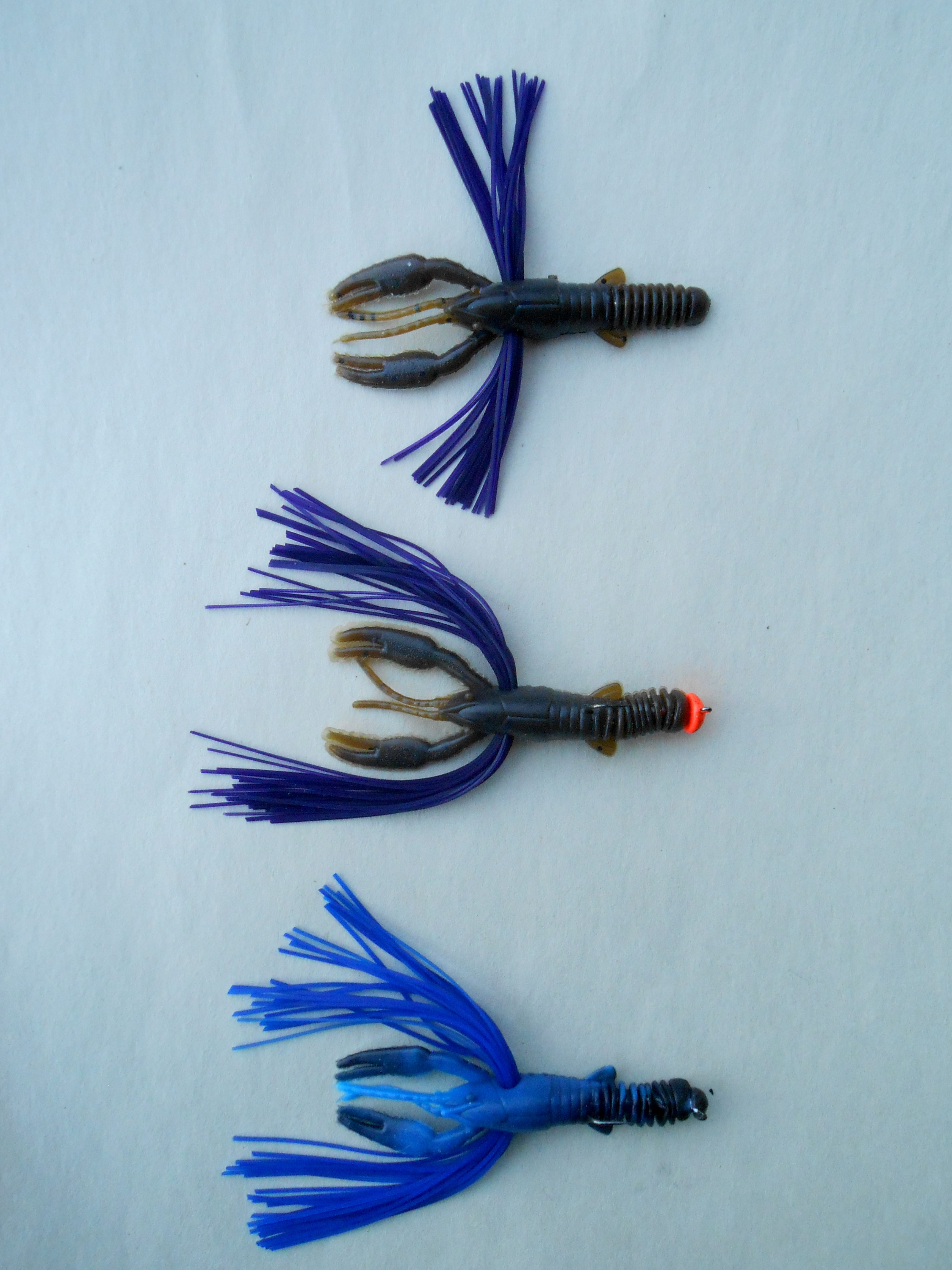 Tightlines UV Lure Company's Whisker T-Crawfish