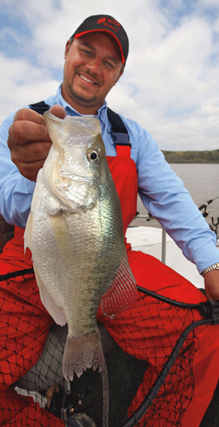 Finding Spring Crappie