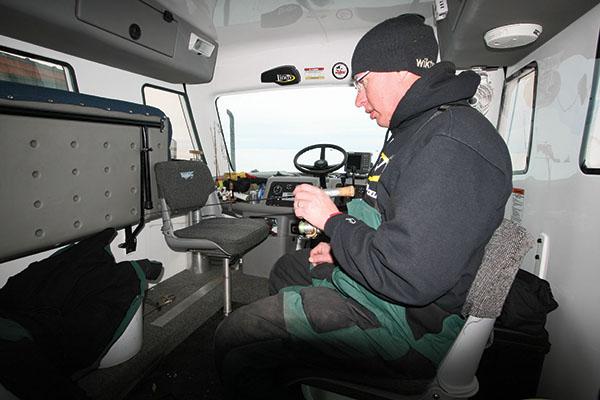 Fishing Inside ATV Vans