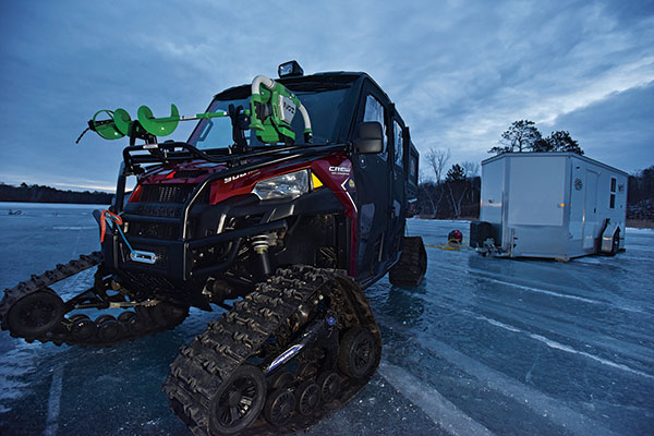 ATV Accessories for Ice Fishing