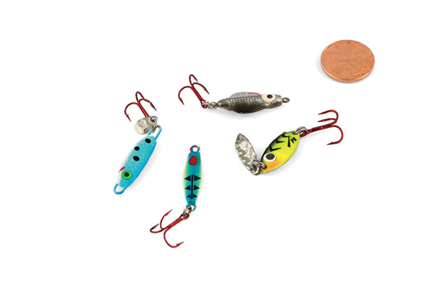 Fluttering Spoons for Spoon Fishing Walleyes