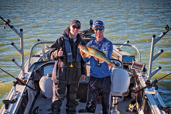 2017 Walleye Tournament Trail Trends