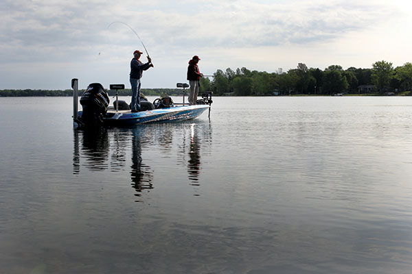 The Effects of Cold Fronts on Bass