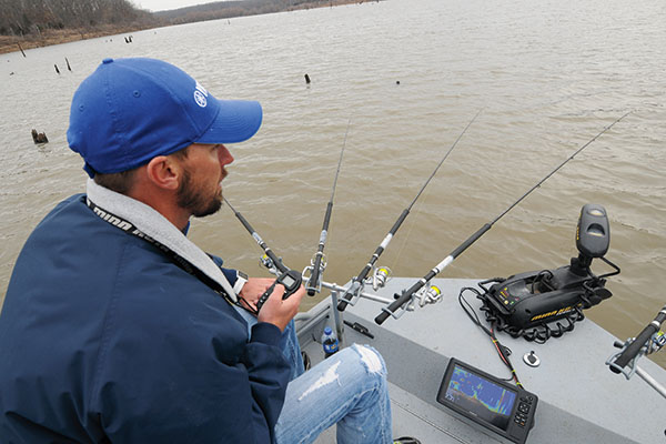 Use Spider-rigs for Wintertime Crappie