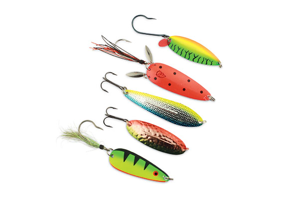 EPPINGER ALL CANADA SHOW 2015 DAREDEVLE SPINNER FISHING// 2 LURES Made in USA