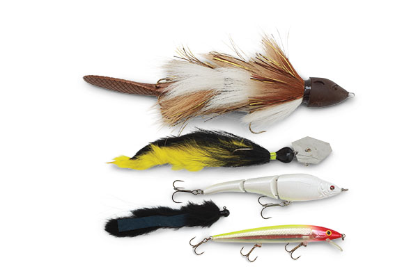 Assortment of Pike Lures