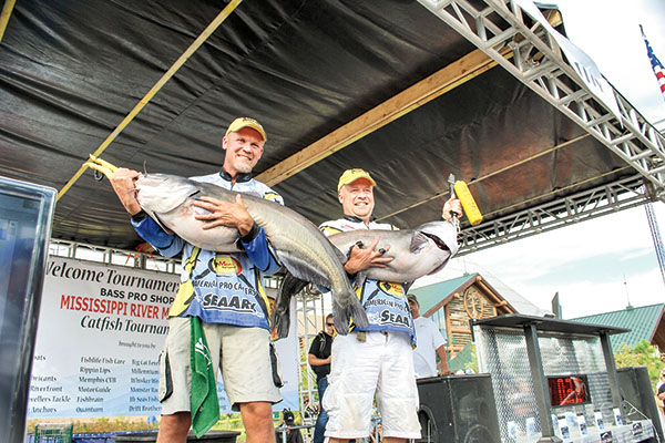 Tournament Won on Non-ordinary Catfish Baits