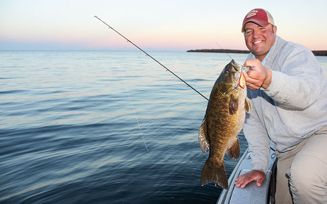 August Smallmouth Fishing Lures