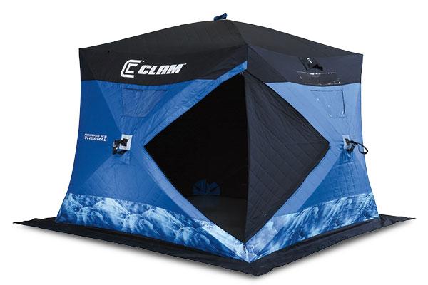 Clam Refuge Ice Fishing Shelter