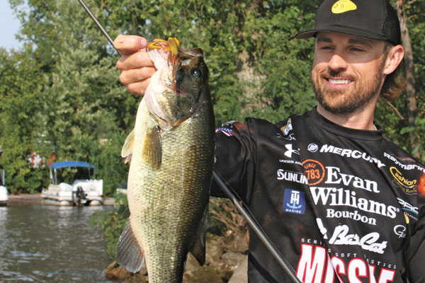 Finesse Fishing for Stubborn Bass