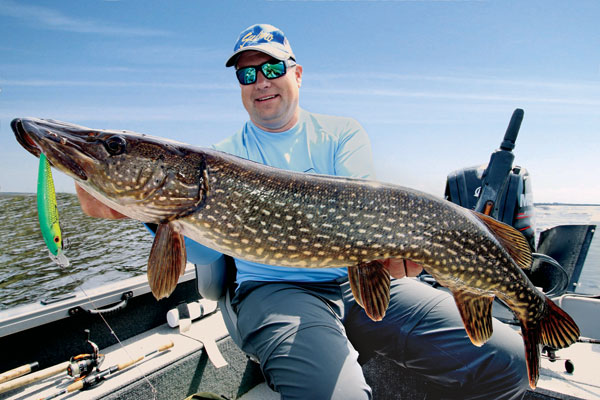 Pike Hotspots in the Lower 48