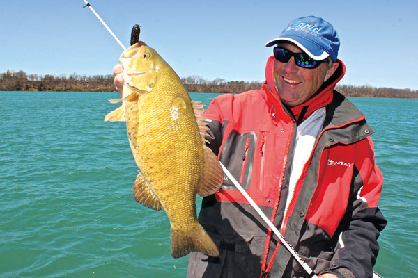 Tactics for Summer Smallmouths in Big Water