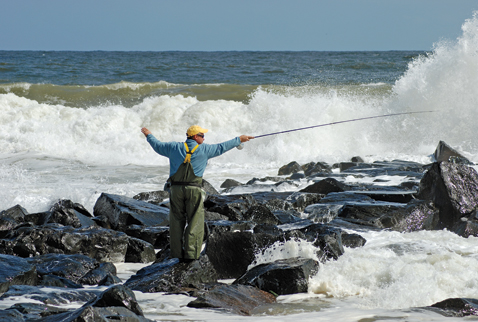 Jersey shore fly fisherman for Nj fly fishing