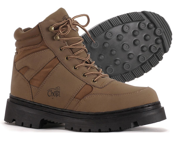 It looks a little like a traditional construction site boot, and maybe that's because the Chota Rocky River is a tough, hardworking boot for less than $100.