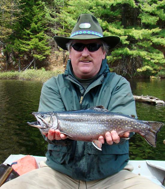 Adirondack park fly fisherman for Freshwater fishing ny