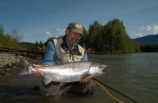 How to catch the fish of a lifetime fly fishing steelhead and salmon