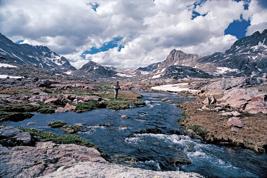 the wind river range - fly fisherman, Fly Fishing Bait