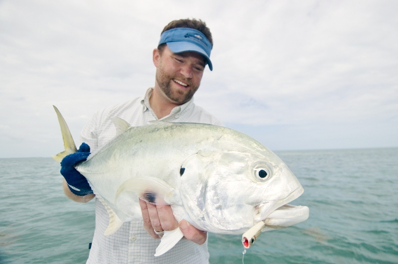 Jack Crevelles are a killer salt water sport fish to say the least.