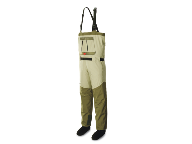 The William Joseph WST wader stands for Wader Safety Technology and it's delivered in the form of an integrated inflatable bladder in the upper torso.