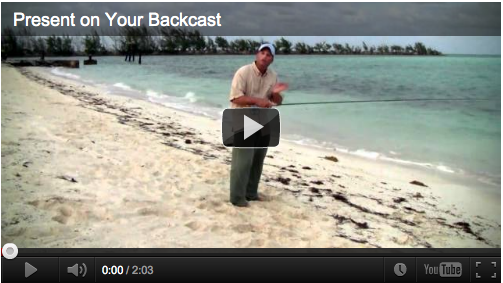 Presenting the fly on your back cast is one of the most under rated fly casts of all. If you get