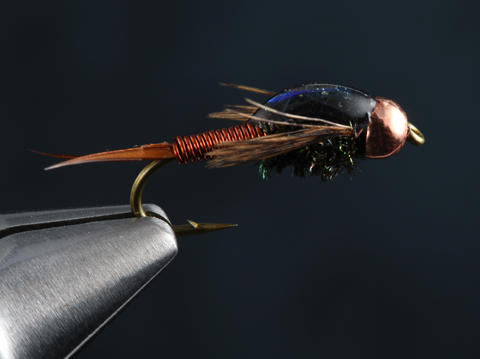 Fly Tying The Copper John