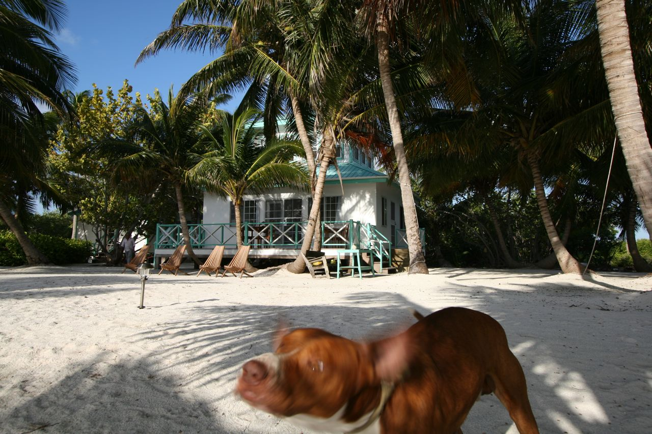 Long Caye Island Outpost.