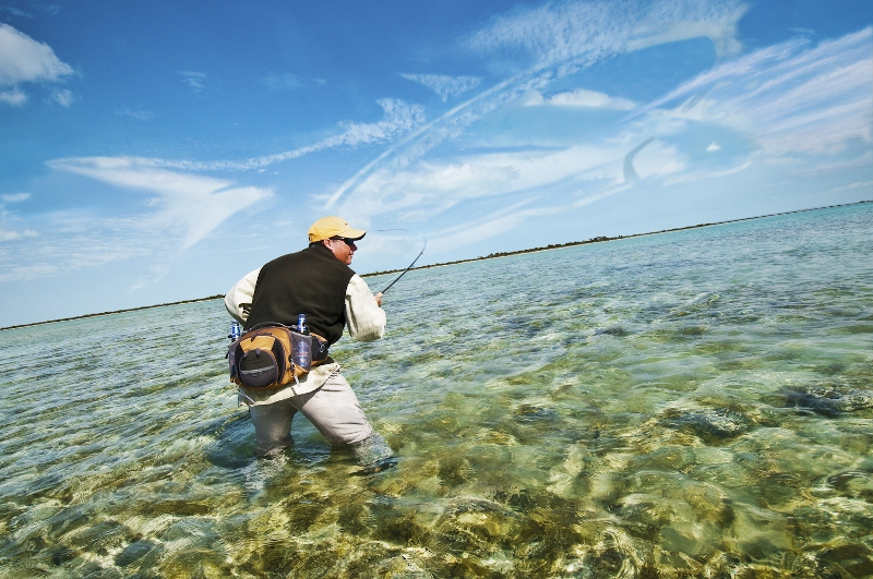 Packs for waists and wading fly fisherman for Wade fishing gear