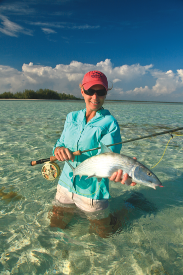 Fly Fishing Bonefish Out Your Back Door