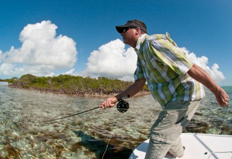 Louis Cahill Photo Learning the best ways to strip set your fly when salt water fly fishing can