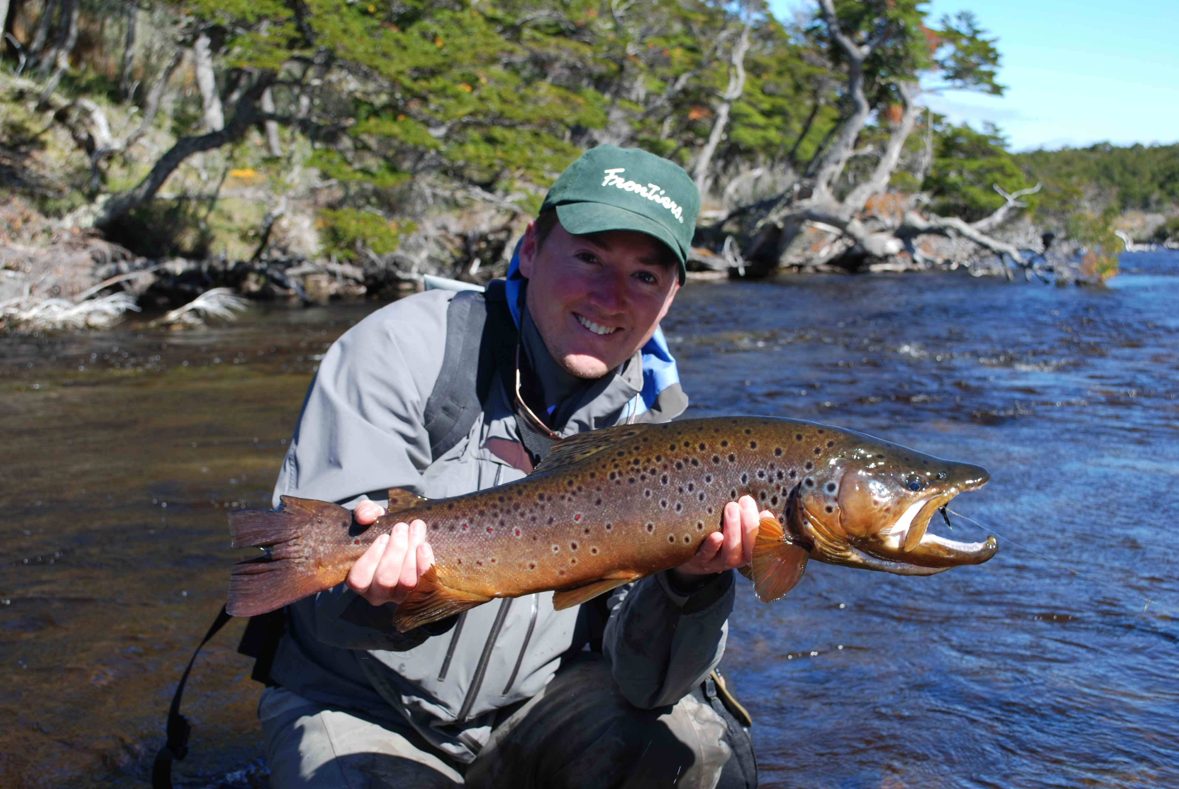 Fly fishing chile fly fisherman for Mass fish stocking