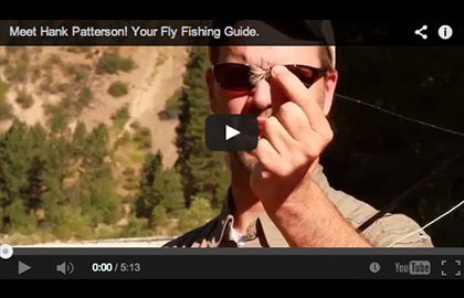 Wisdom from a fly fishing